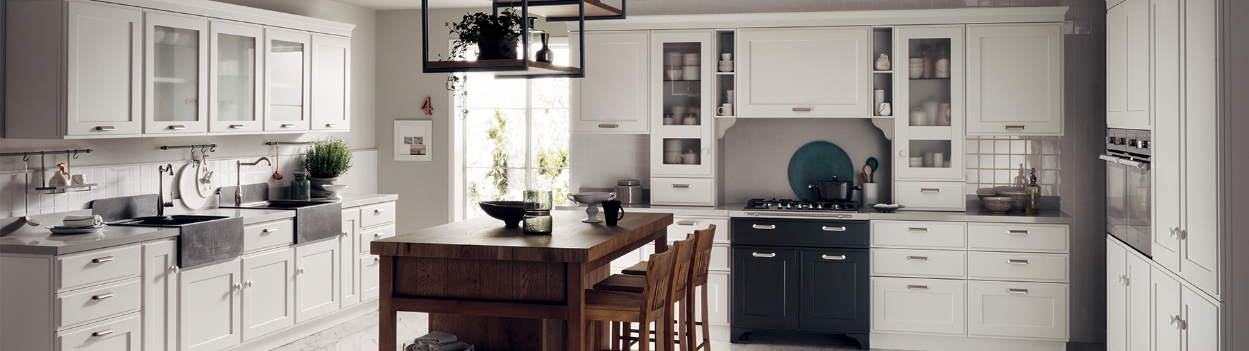 Scavolini wooden kitchen units