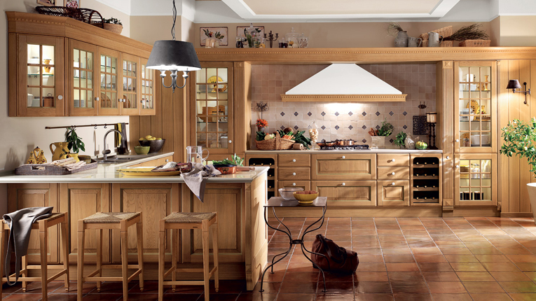 Baltimora. The hues of wood for current conviviality.
