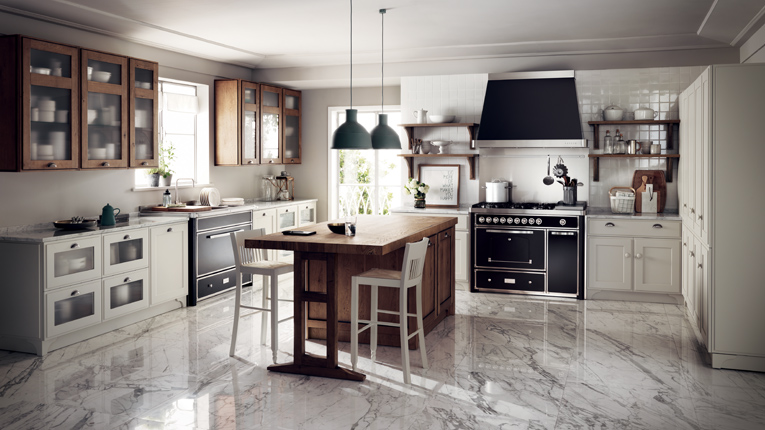 Shabby Chic Cucine : Favilla the shabby chic kitchen magazine scavolini